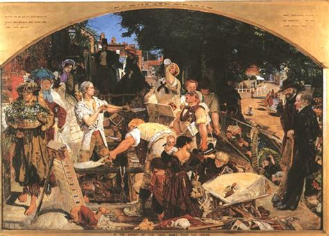 painting work work by ford madox brown