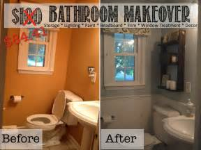 Cheap Bathroom Makeover Ideas by Two It Yourself Reveal 100 Small Bathroom Makeover