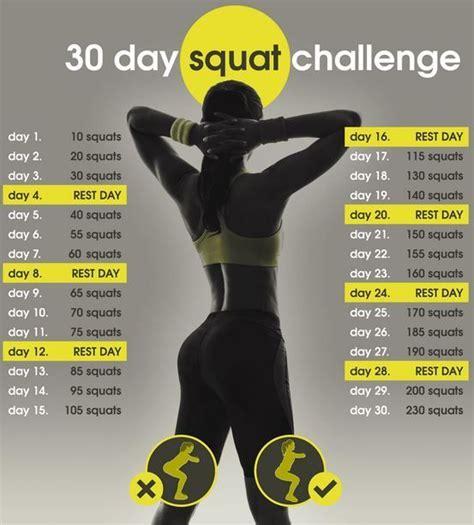 60 days squat challenge the 25 best 30 day squat challenge ideas on