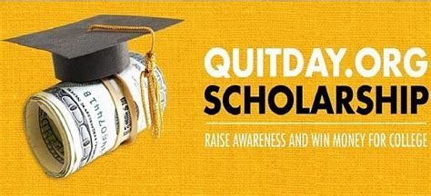 Scholarship Sweepstakes - quitday org scholarship contest 2017 2018