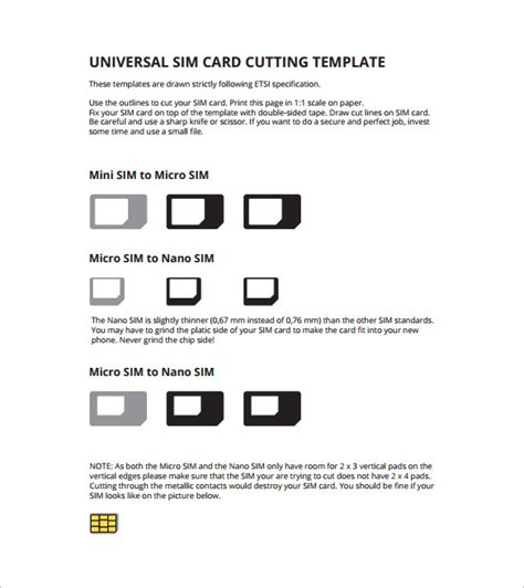 sim card to mini sim template micro sim card template 12 free printable sle