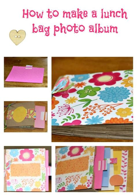 How To Make A Paper Book Bag - make a paper lunch bag photo album diy craft