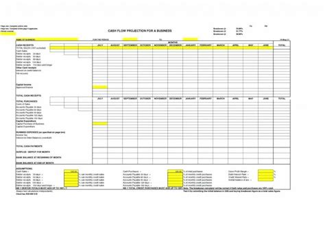Business Valuation Template Excel Free