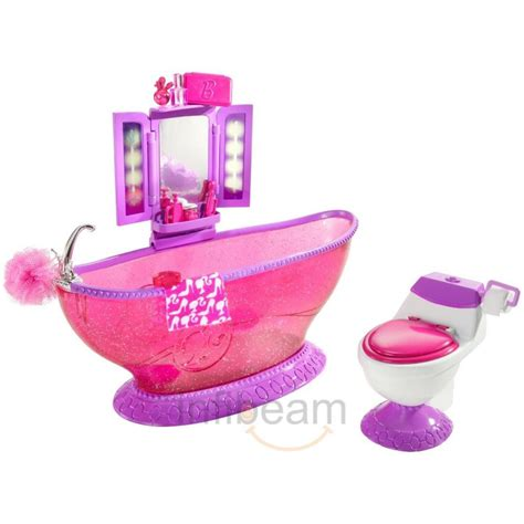 barbie bathtub barbie bath to beauty bathroom set price buy barbie bath