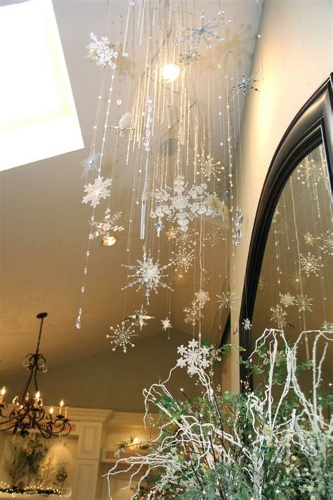 decorating a ceiling for christmas 26 creative snowflake decorations that inspire shelterness