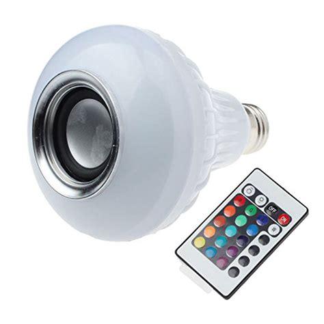Bohlam Led Rgb E27 Dengan Bluetooth Speaker e27 led rgb bulbs wireless bluetooth speaker l with rf remote smart wifi l