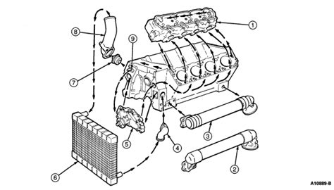 Service Manual 2009 Ford Ranger Thermostat Replace