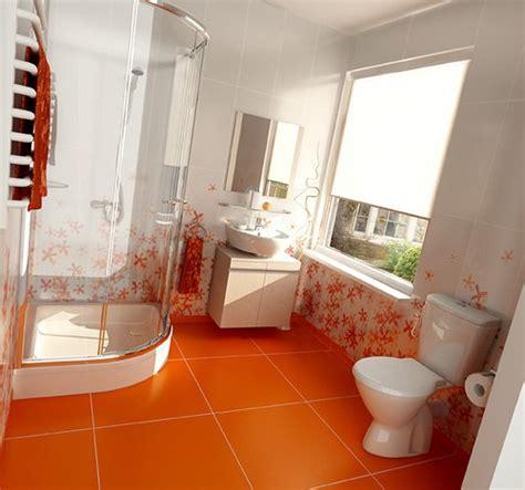 bagni di colore 18 bagni di colore arancione idee pratiche
