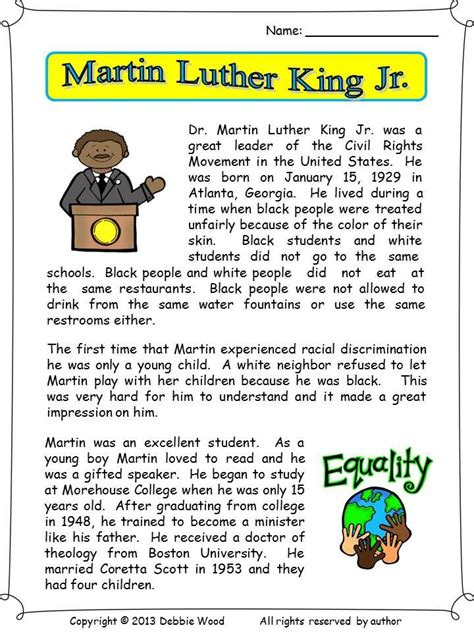 martin luther king jr martin luther vocabulary