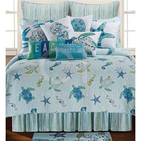 Sea Turtle Bedroom Decor by Imperial Coast Sea Turtle Bedding