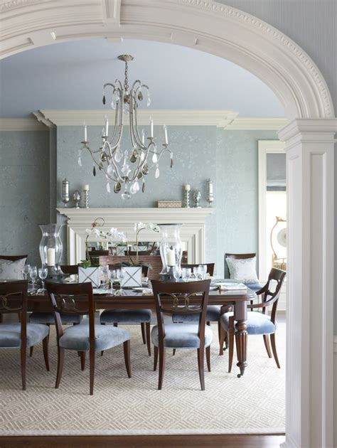 Dining Room Ideas Blue Walls 25 Blue Dining Room Designs Decorating Ideas Design