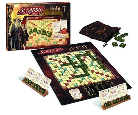 scrabble journey the hobbit scrabble board