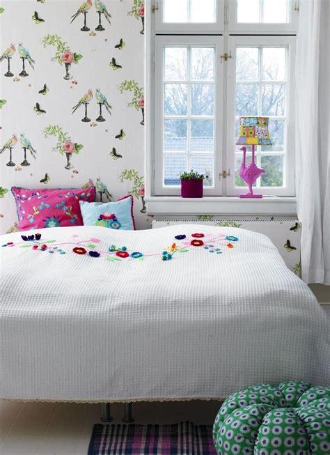 nina campbell wallpaper tween bedroom cute kids room