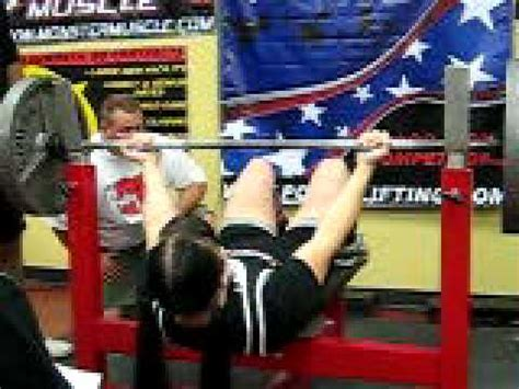 womens bench press record judy sverchek all time world record raw bench press youtube