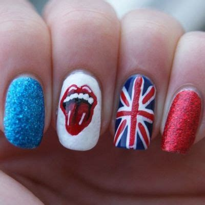 nail art tutorial british flag 30 best british flag nail art designs nailart