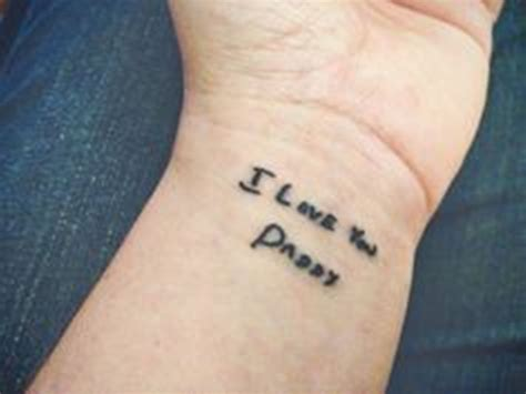 25 classy i love you wrist tattoos