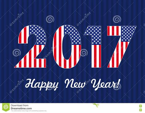 2017 happy new year usa banner stock vector image 76510155