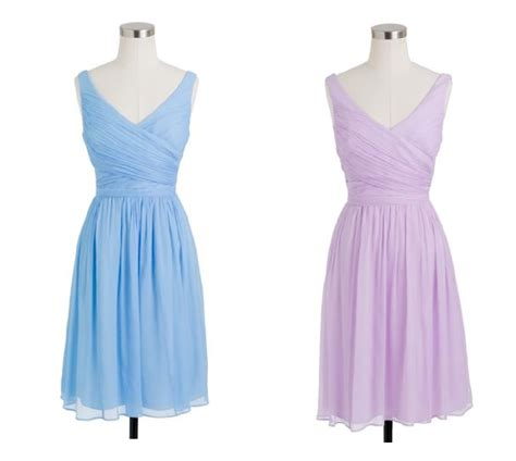 light colored j crew bridesmaid dresses for a vintage wedding rustic