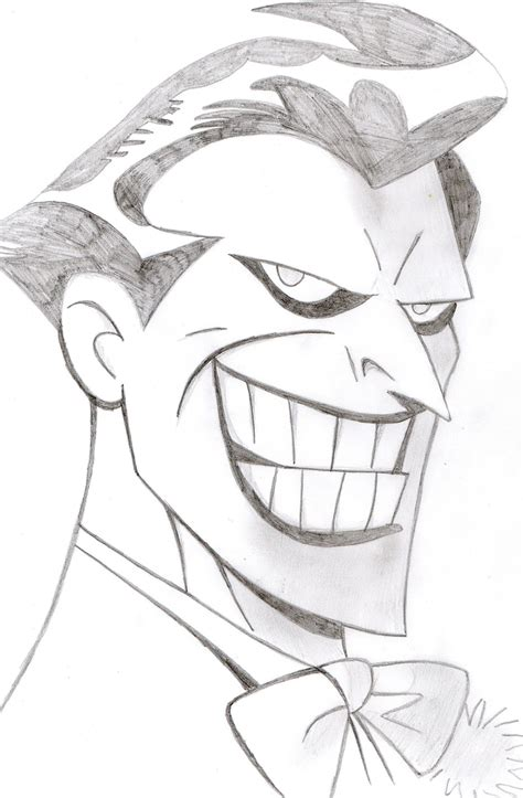 Drawing Joker by Animated Pics Pencil Drawing