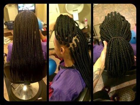 medium single braids styles medium size box braids hair hair more hair