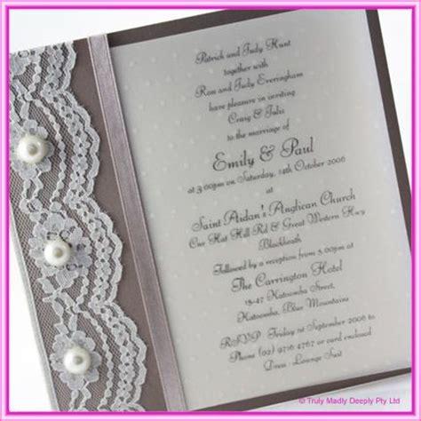diy invitations lace do it yourself wedding invitation