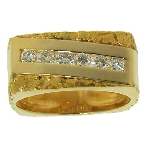 83 best images about gold nugget rings on