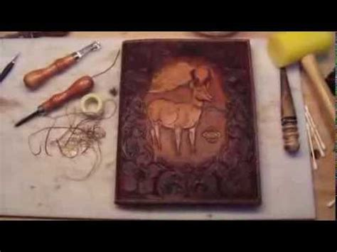 How To Make A Book Cover From A Paper Bag - a leather book cover