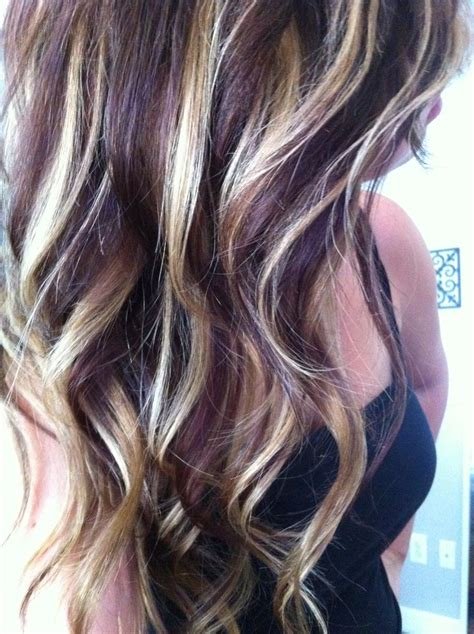 Highlight Ideas For Brown Hair Caramel And Red Highlights In Brown Hair Images Amp Pictures