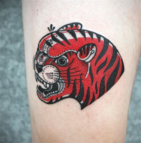 pattern ornamental tattoo tiger ornamental tattoo by david hale design of