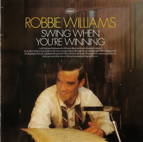 Robbie Williams Swing When You Re Winning At Discogs