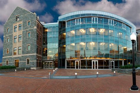 Gwu Mba Admissions Deadlines by Mcdonough School Of Business Georgetown