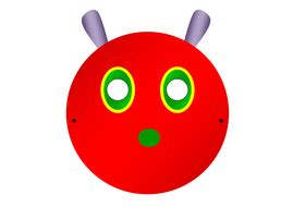 caterpillar mask template the hungry caterpillar story telling pack including