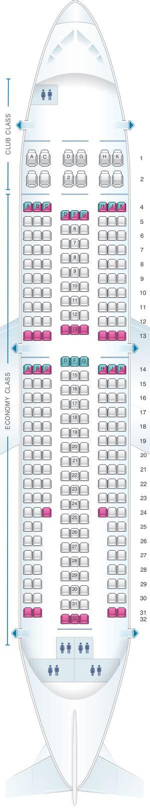 airbus a310 300 seating seat map air transat airbus a310 300 seatmaestro