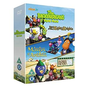 the backyardigans pack dvd co uk dvd