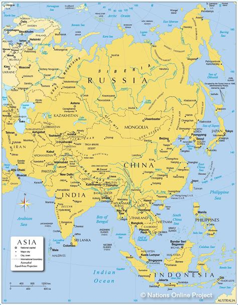 political map of azerbaijan nations online project map of asia political map of asia nations online
