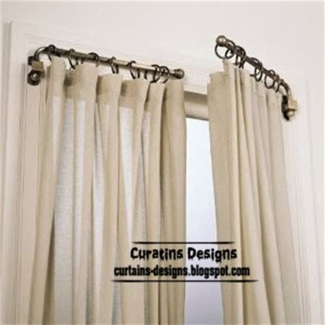unique curtain rods swing arm curtain rod the best window covering ideas
