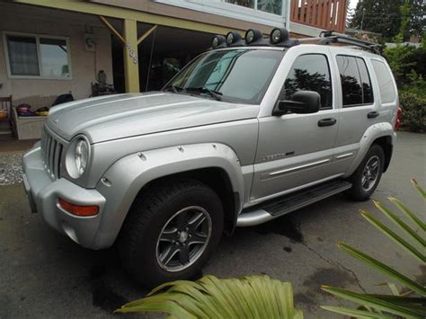 2002 Jeep Liberty Value Price 2002 Jeep Liberty Renegade Outside Nanaimo