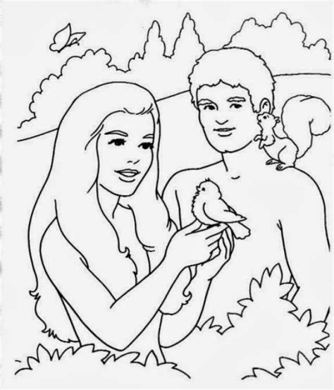 preschool coloring page adam and eve me aburre la religi 211 n actividades ad 193 n y eva