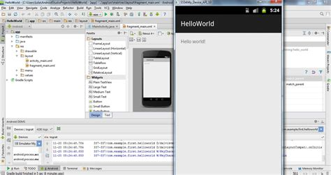android studio http post tutorial create emulator in android studio