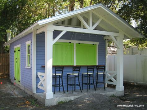 Outdoor Living Shed by Custom Snack Shack Shed Hometalk