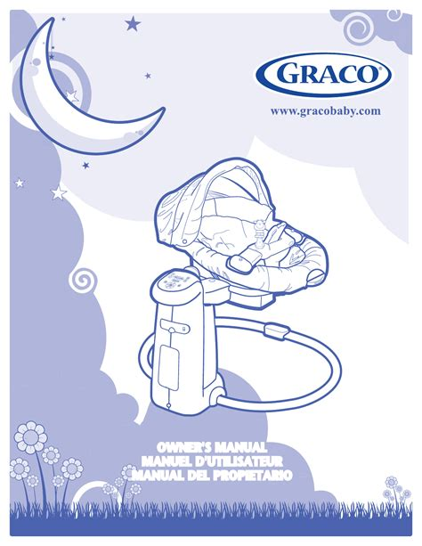 graco baby swing manual graco baby swing 1759162 manual