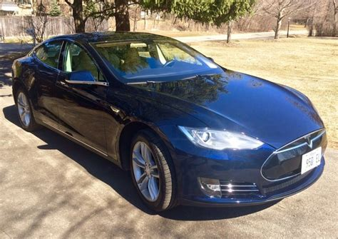 Horsepower Of Tesla Model S 2013 Tesla Model S Performance 63 475 Electric