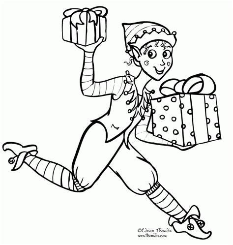 elf on the shelf coloring page girl printable girl elf on the shelf coloring pages coloring home