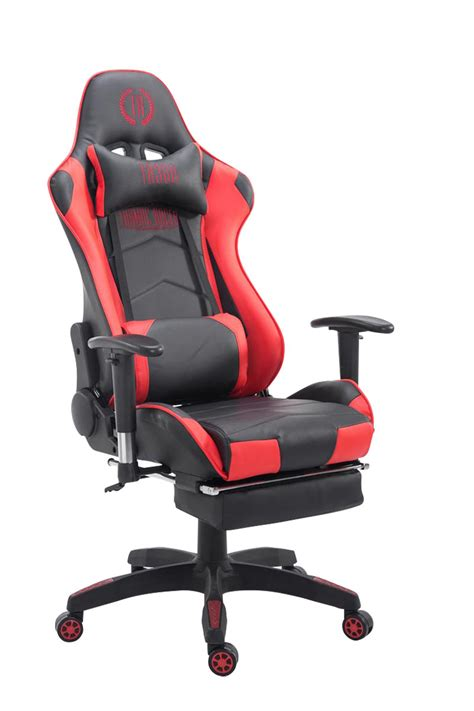 Xl Racing Office Chair Turbo With Footrest Adjustable