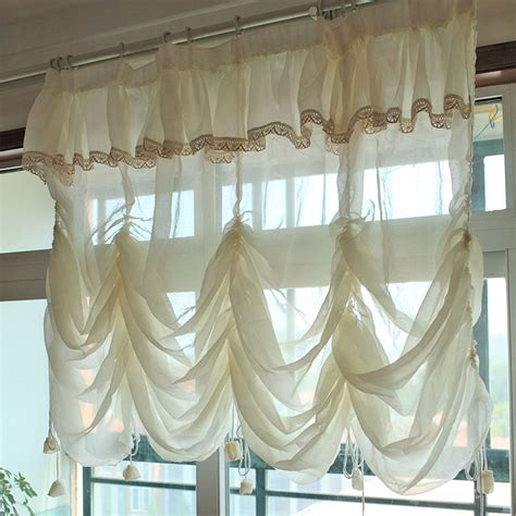 Balloon Curtains Get Cheap Lace Balloon Curtains Aliexpress