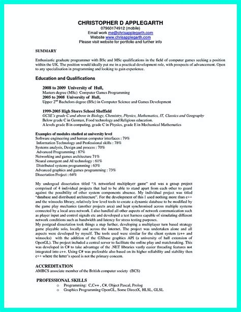 computer science internship resume sle beautiful sle resume bsc nursing fresher ideas resume