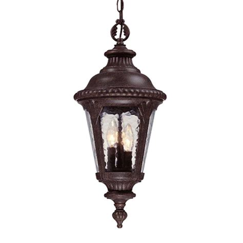 Outdoor Hanging Light Fixture Acclaim Lighting Surrey Collection Hanging Outdoor 3 Light Black Coral Light Fixture 7216bc