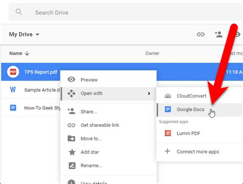 convert pdf to word with google docs how to convert pdf files and images into google docs documents