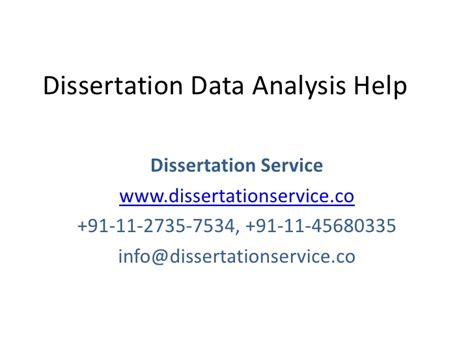 thesis data analysis dissertation data analysis services nozna net