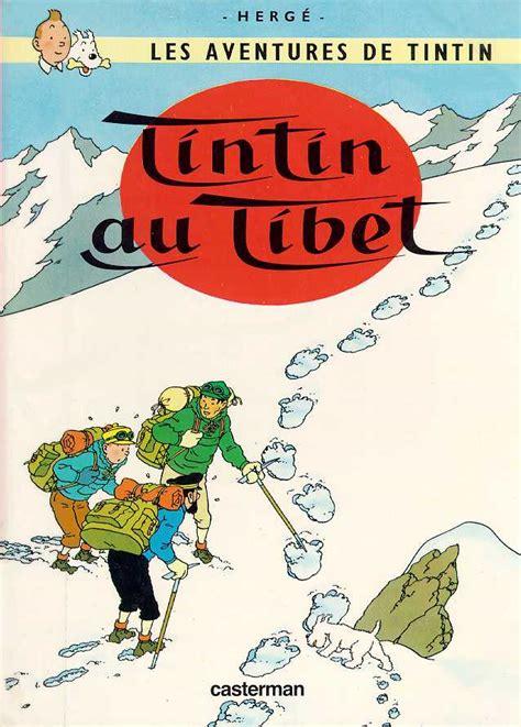 tintin au tibet les jo de la fabrication de l information